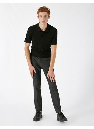 Koton Slim Chino Pantolon Gri